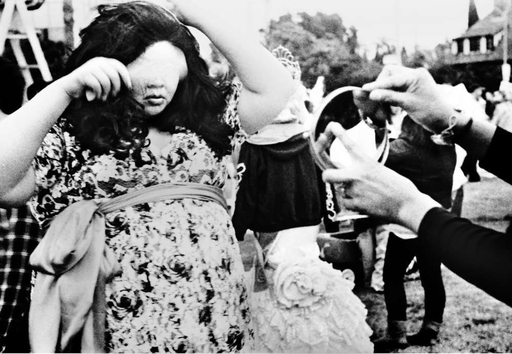 Street photography, Los Angeles Mon amour, Leica, black and white, Gay pride parade,
